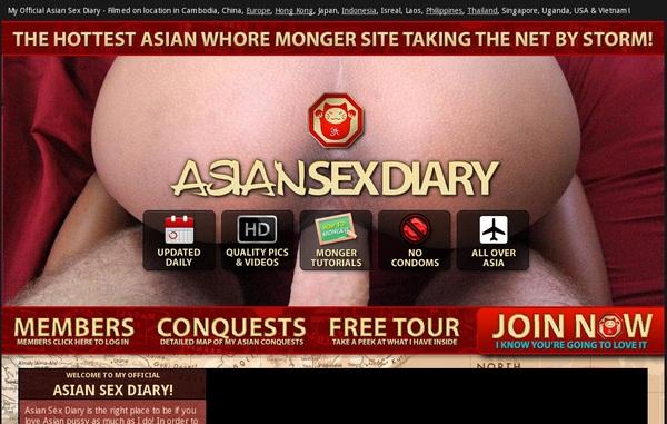Diary Sex Asian Passwords