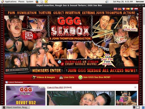 Box Sex GGG Free Passwords