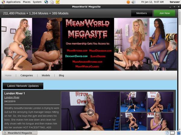 Mean World MegaSite Credit Card